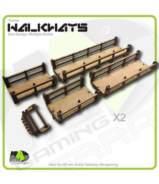 MAD Gaming Terrain Walkways - Straight set