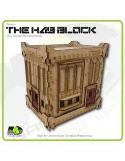 Hab Block - Double Height - Alternative