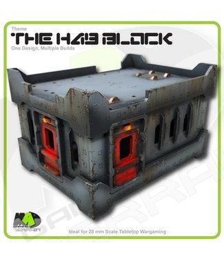 MAD Gaming Terrain Hab Block - Standard