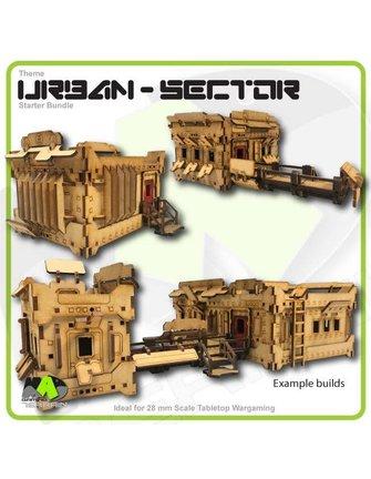 MAD Gaming Terrain Theme Starter Bundle - Urban