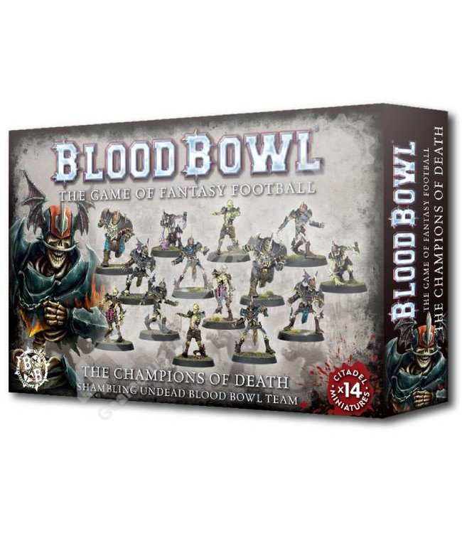 Blood Bowl Blood Bowl Champions Of Death Team