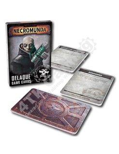 Necromunda: Delaque Gang Cards