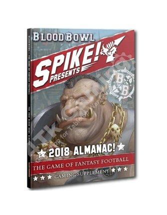 Blood Bowl Blood Bowl: Spike! 2018 Almanac!