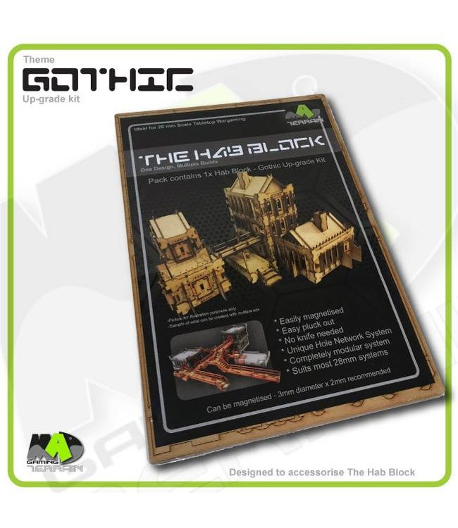 MAD Gaming Terrain Gothic - Up-grade kit