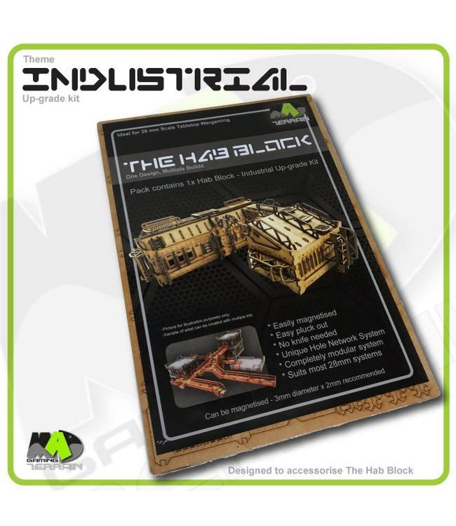 MAD Gaming Terrain Industrial - Up-grade kit