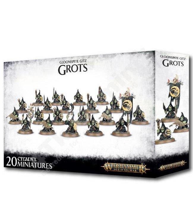 Age Of Sigmar Gloomspite Gitz Grots