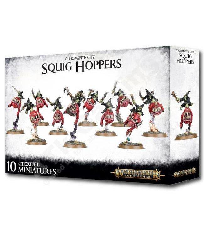 Age Of Sigmar Gloomspite Gitz Squig Hoppers