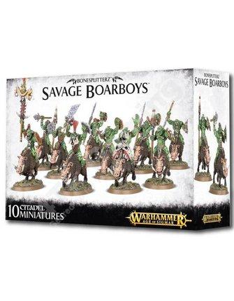 Age Of Sigmar Bonesplitterz Savage Boarboys
