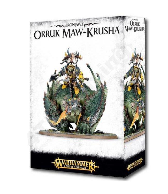 Age Of Sigmar Orruk Warclans: Gordrakk The Fist Of Gork