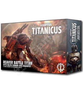 Adeptus Titanicus Reaver Titan W/Melta Cannon & Chainfist