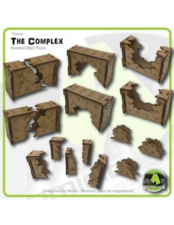 Ruined Wall Sections set