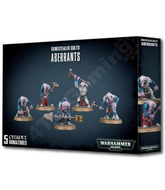 Warhammer 40000 Genestealer Cults Aberrants