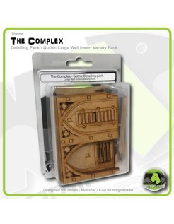 Gothic Large Wall Detailing Insert Variety Pack