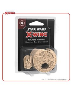 Star Wars X-Wing: Galactic Republic Maneuver Dial Upgrade Kit