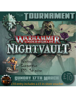 Warhammer Underworlds 17th March 2019