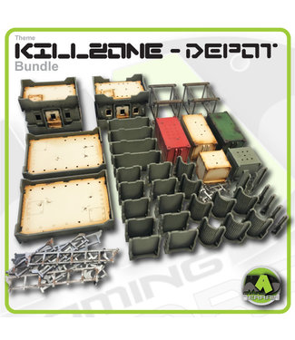 MAD Gaming Terrain KILLZONE - Depot