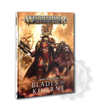 Age Of Sigmar Battletome: Blades Of Khorne (Hb)