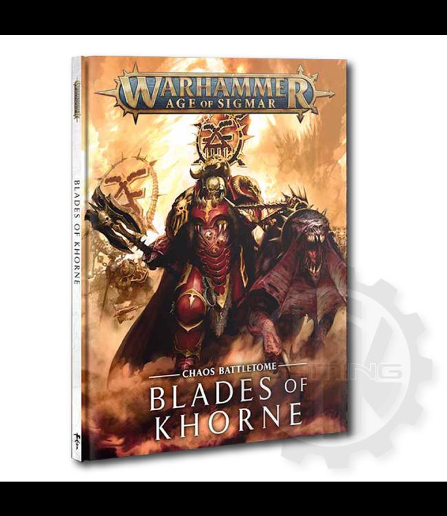 Age Of Sigmar Battletome: Blades Of Khorne (Hb)