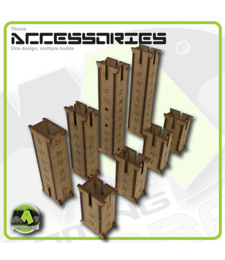 MAD Gaming Terrain Walkway Support Kit