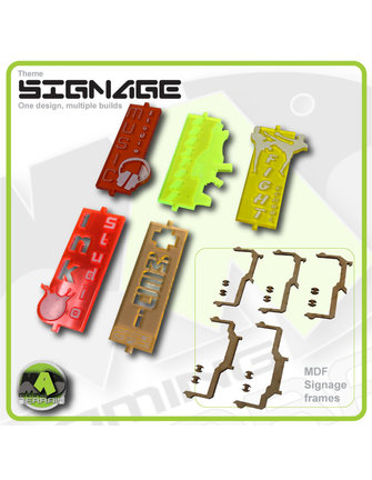 MAD Gaming Terrain Street Signs