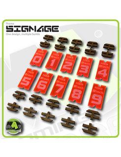 Number Signage