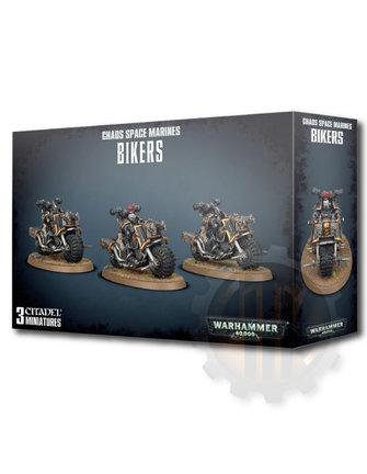 Warhammer 40000 Chaos Space Marines Bikers