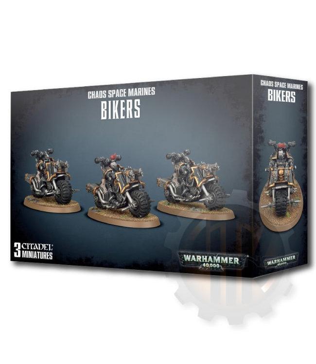 Warhammer 40000 Chaos Space Marines Bikers