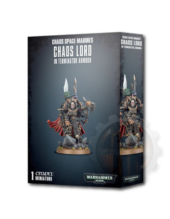 Warhammer 40000 Chaos Space Marines Terminator Lord