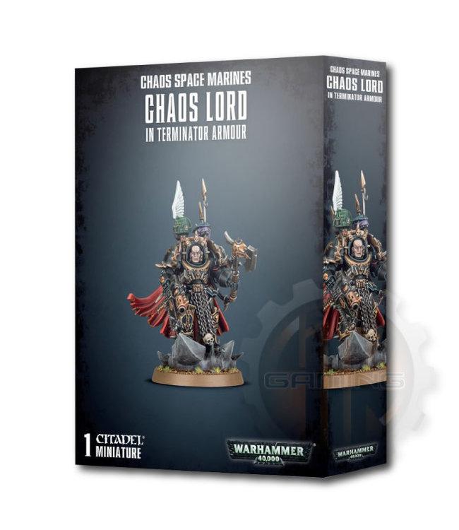 Warhammer 40000 Chaos Space Marines Terminator Lord