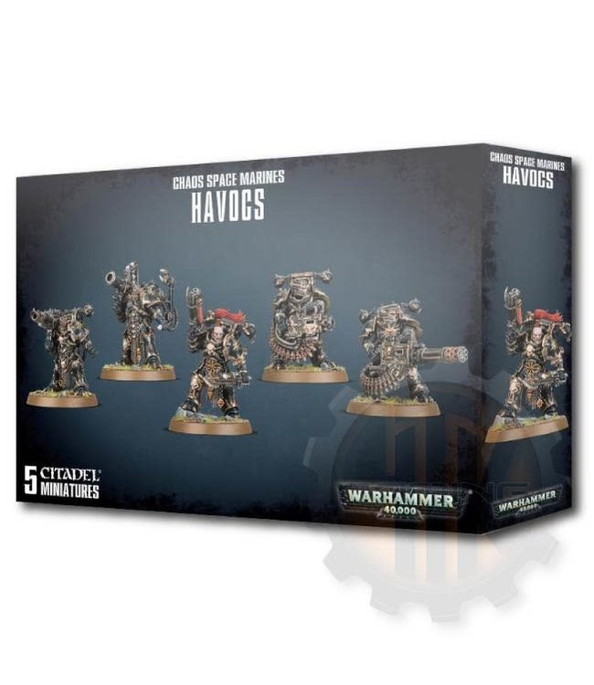Warhammer 40000 Chaos Space Marines Havocs
