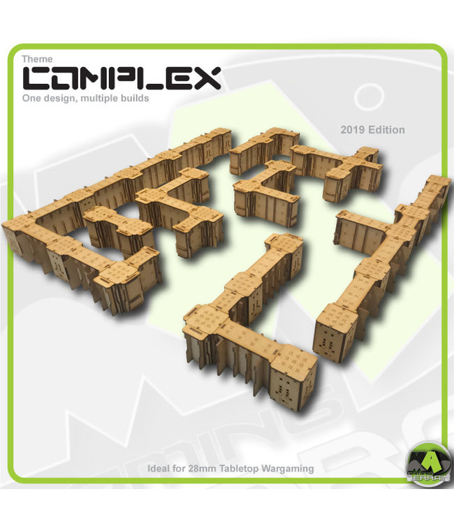 MAD Gaming Terrain Complex - Large Basic Gaming Bundle 2019ed