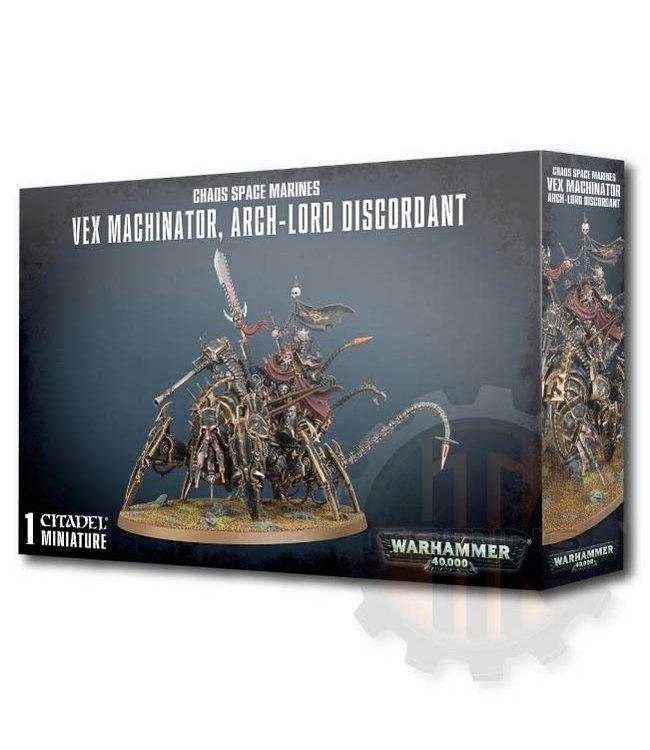 Warhammer 40000 Chaos Space Marines Vex Machinator