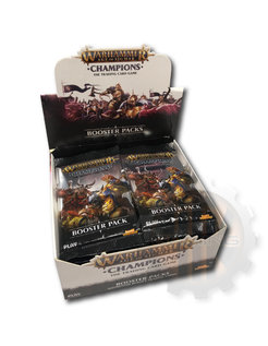 Champions Wave 1 Booster Display