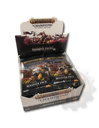 Champions Champions Wave 1 Booster Display