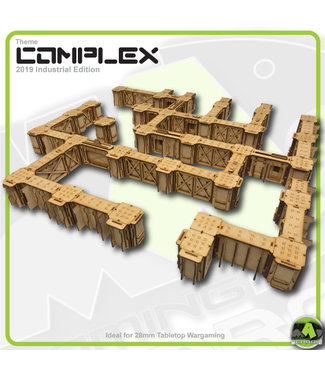 MAD Gaming Terrain Large Complex Bundle - Industrial Themed 2019ed