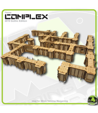 MAD Gaming Terrain Large Complex Bundle - Gothic Themed 2019ed