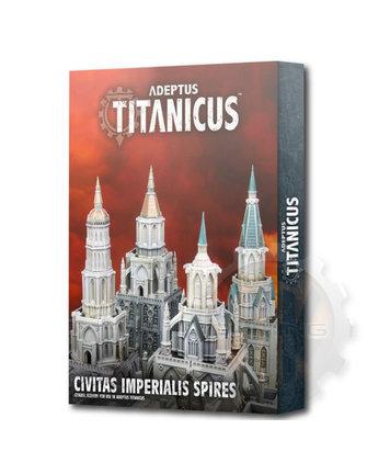 Adeptus Titanicus Adeptus Titanicus Civitas Imperialis Spires