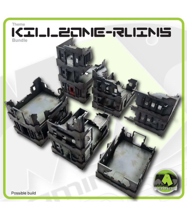 MAD Gaming Terrain KILLZONE - Ruined City