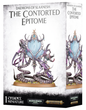 Age Of Sigmar Daemons/Slaanesh: The Contorted Epitome