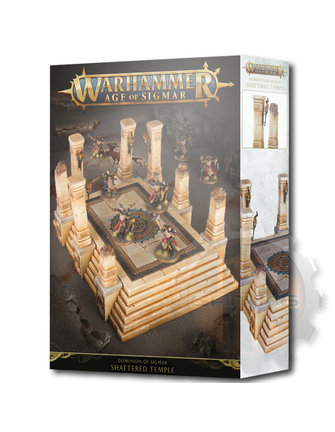Age Of Sigmar Dominion Of Sigmar: Shattered Temple