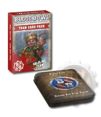Blood Bowl Blood Bowl Halfling Team Card Pack
