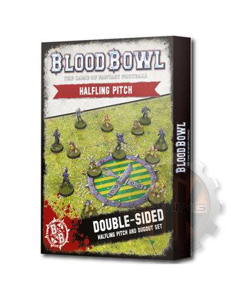 Blood Bowl Blood Bowl:Halfling Team Pitch & Dugouts