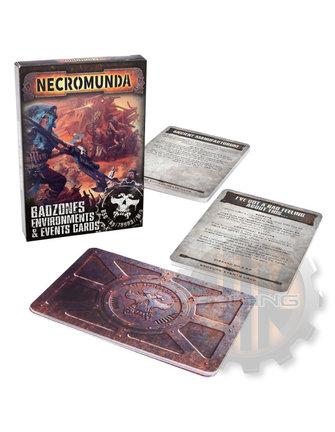 Necromunda Badzones Environments & Event Cards Eng