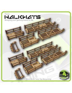 Walkways - Straight Set Detailed