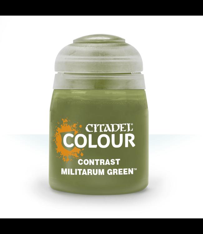 Contrast Contrast: Militarum Green (18Ml)