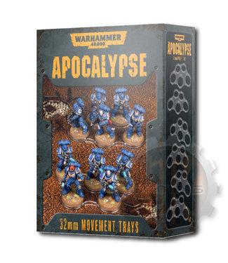 Apocalypse Wh40K Apocalypse Movement Trays (32Mm)