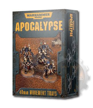 Apocalypse Wh40K Apocalypse Movement Trays (40Mm)