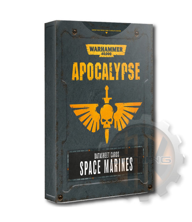 Apocalypse Apocalypse Datasheets: Space Marines Eng