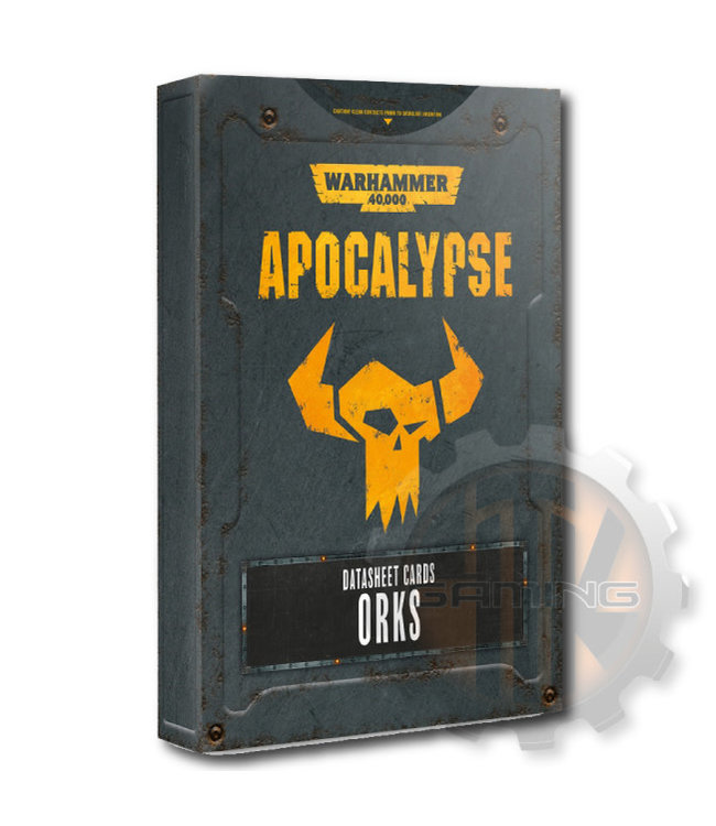 Apocalypse Apocalypse Datasheets: Orks