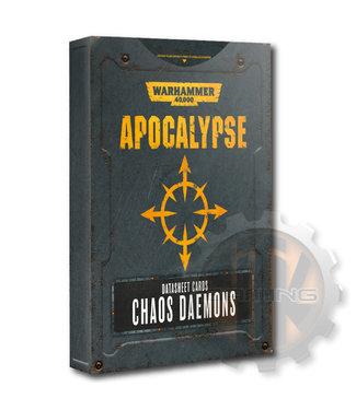 Apocalypse Apocalypse Datasheets: Chaos Daemons